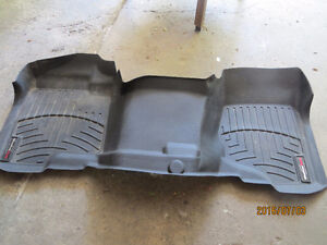 fitted floor mat