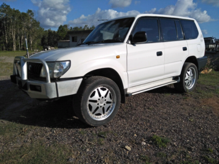 Toyota Landcruiser Prado 95 series 07/2002 Turbo Diesel Maryborough Fraser Coast Preview