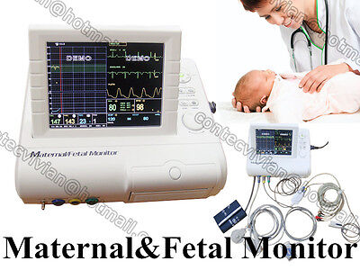 Maternal Mother Multiparameter Patient Monitorfetal Monitortocofetal Movefhr