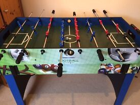6 in 1 Multi Games table