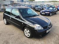 Renault Clio 1.4 16v Auto Expression Automatic 2003 77K 12 Months Mot