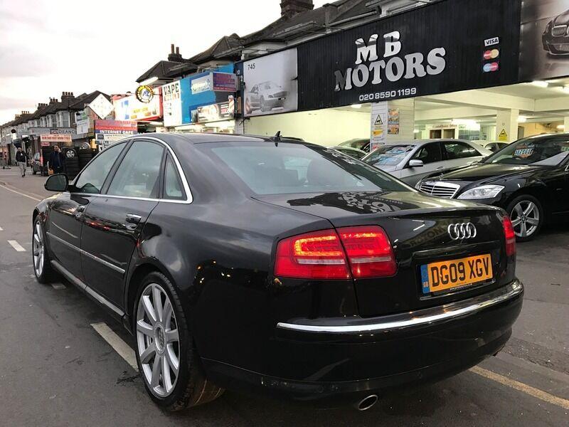 Audi A8 3.0TDI SPORT QUATTRO LWB (black) 2009 | in Redbridge, London