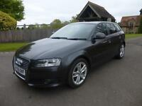AUDI A3 1.9TDIe SPORTBACK, SPORT, ALLOYS, HPI CLEAR, FULL HISTORY,