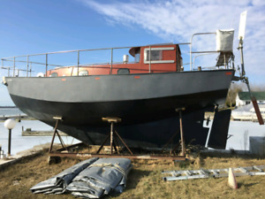 STEEL SAILBOAT $5500