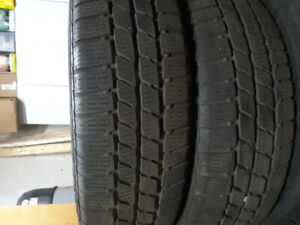 Pair Of 175/65R15 Continental Snow Tires Forsale