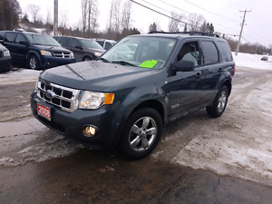 2008 ford escape FWD only 146k v6 certified etested