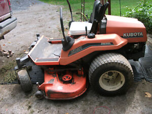 Kubota ZD 21 Zero turn mower