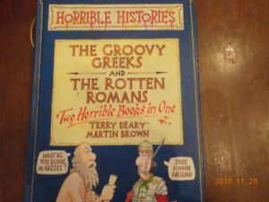 Horrible Histories: Groovy Greeks and the Rotten Romans
