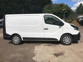 Renault Trafic Sl27 Dci 120 Business Van DIESEL MANUAL WHITE (2017)