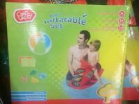 BARGAIN!!!brand new inflatable water set