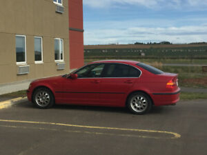 2003 BMW 320i  RHD CLEAN LOW KMS RED IMPORTED FROM JAPAN