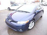 2007 Honda Civic Cpe EX- M5- GR ELEC- TOIT OUVRANT Financement m