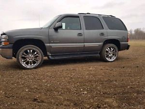 2001 Chevy Tahoe NEW ENGINE & TRANS 60K AGO