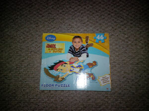 Jake and the Neverland Pirates Foam Floor Puzzle