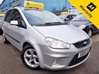 2008 FORD C-MAX 1.6 ZETEC 100 BHP! P/X WELCOME! 2 OWNERS! 64K MILES! AUX INPUT!