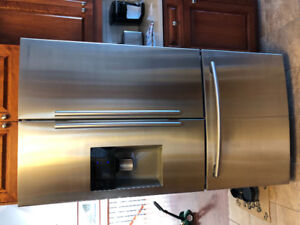 Samsung French Door water/ice stainless Steel fridge