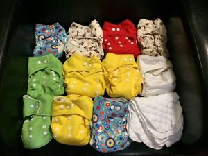 OS Pocket Cloth Diapers + 5 inserts