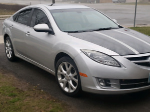 2009 mazds 6 i. Fully loaded 6speed sunroof leather
