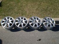 Jantes / Wheels 205-55 R16 4bolts