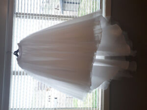 Beautiful Bridal Tulle Skirt and Corset