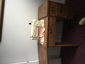 Kenmore Sewing Machine w/desk