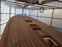 Looking for work wooden boatbuilder carpenter joiner painter