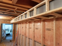 Framing / drywall / basement