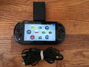 PS Vita Slim With Memory Card & Charger