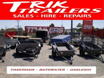 TRIK TRAILERS trailer sale 6x4 from 550 Bayswater Knox Area Preview
