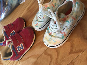 Variety of girls shoes size 7