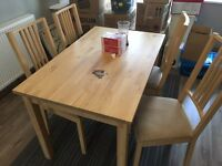 Ikea Borje / Bjursta Dining table only