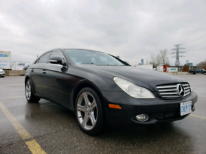 Mercedes Benz CLS500 +wheels on winter tires