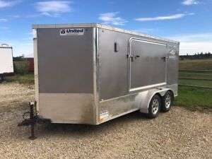 2012 United Cargo Trailer with Bed