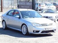 Ford Mondeo ST, 2.2TDCi, 2006, SIlver, 80 000 Miles, FSH, 6 Months AA Warranty