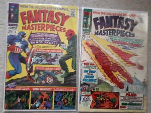 Fantasy Masterpieces Volume 1 # 6 & # 11 Marvel Comics 1966-67