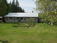 House and 12 1/2 acres for sale