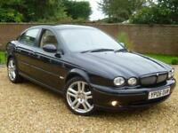 2006 Jaguar X-TYPE 2.2D Sport Saloon Manual ++ PART LEATHER + CRUISE + 6 SPEED