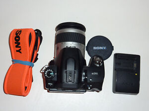 Sony A390 camera with AF 28-80mm F 3.5-5.6mm lens