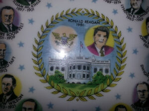 AWESOME PLATE WITH PICS AND DATES OF EVERY AMERICAN PRESIDENT 7$ London Ontario image 3