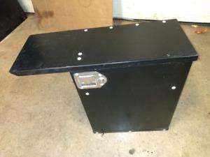 Steel Console Lockbox Sprinter Express Transit Camper cube van