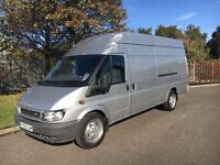 2005 Ford Transit T350 Jumbo 2.4TD 135BHP 6Speed✅Silver✅PX WELCOME✅12 MONTHS MOT