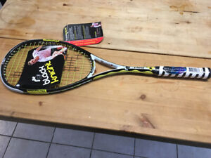 Brand new Black Knight ion x force squash racket