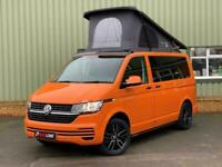 BRAND NEW 2021 VW Transporter T6.1 Bright Orange Camper Van, New Campervan