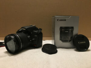 Canon Rebel XS with 10-18 mm EF-S lens