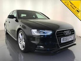 2015 AUDI A4 S LINE NAV DIESEL AUTO LEATHER INTERIOR 1 OWNER SERVICE HISTORY