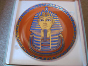King Tut Collector Plate