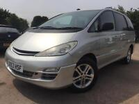 Toyota Previa 2.0 D-4D T3 8 Seater 2004 Twin Sliding Doors Full Service History