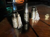 2 Unique and Beautiful Carry Metal Perfume Bottles