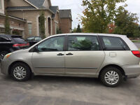 2004 Toyota Sienna - Great Condition and low KM