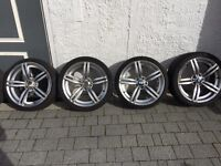 BMW M3 M5 M6 style 313 wheel /tyres